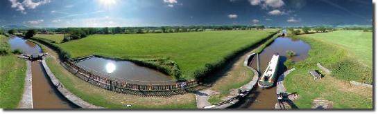Bosley Locks, Nr Macclesfield, Cheshire